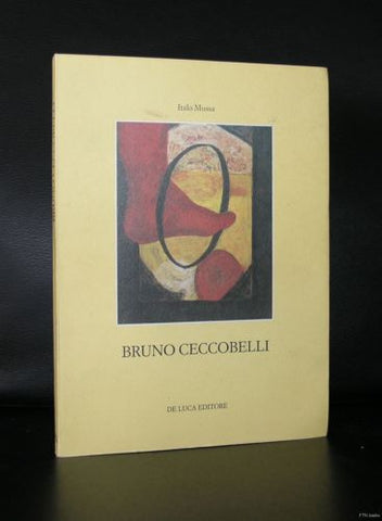 Bruno Ceccobelli # LE FIGURE, LE CASE, I POZZI #with signature/drawing, 1988,nm+