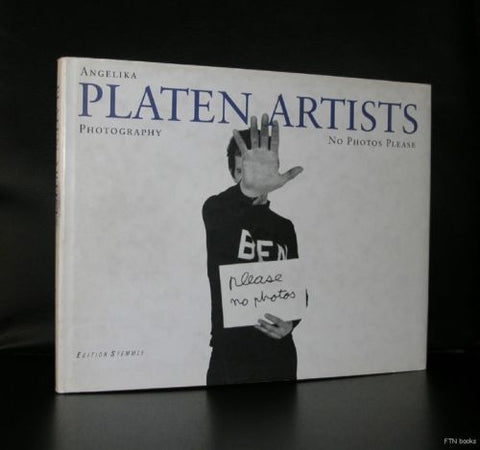 Angelika PLaten # PLATEN ARTISTS# No photos please, 1998, nm