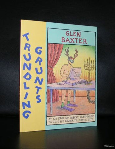Glen Baxter # TRUNDLING GRUNTS # 2002, mint