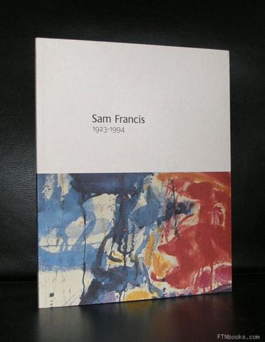 Robert Sandelson # SAM FRANCIS | 1923-1994 # + invitation card, Mint-