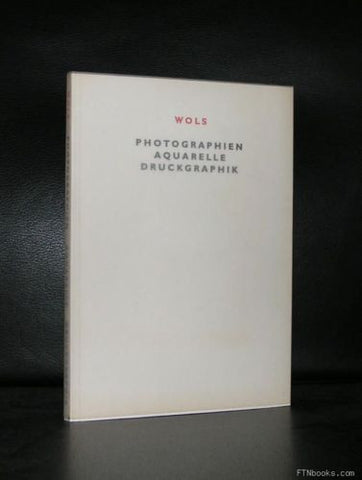 Wols # PHOTOGRAPHIEN AQUARELLE DRUCKGRAPHIK # 1988, nm+