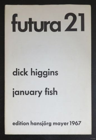 D.Higgins, Hansjorg Mayer # JANUARY FISH # 1967, nm