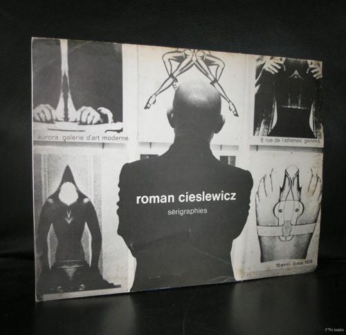 Roman Cieslewicz # SERIGRAPHIES  1975, invitation and signed card, nm