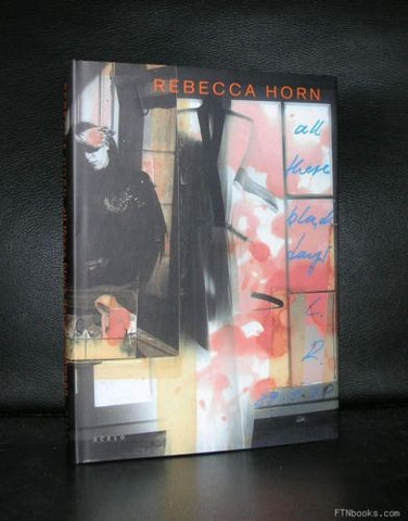 Rebecca Horn # ALL THESE BLACK DAYS#2001, Mint