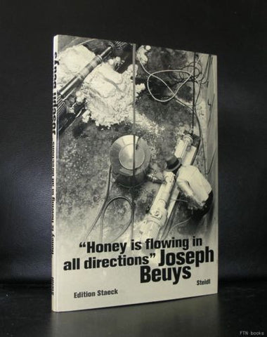 Joseph Beuys #HONEY FLOWING IN ALL DIRECTIONS#1997,mint