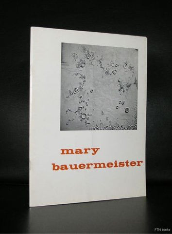 Stedelijk Museum #Mary BAUERMEISTER and KARLHEINZ STOCKHAUSEN# 1962, nm