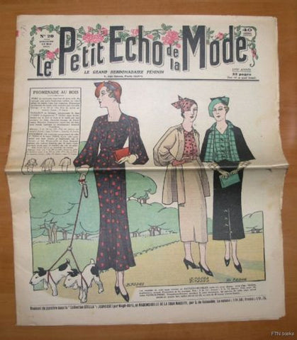 Petit Echo de la Mode  # No. 20 # 1935, nm