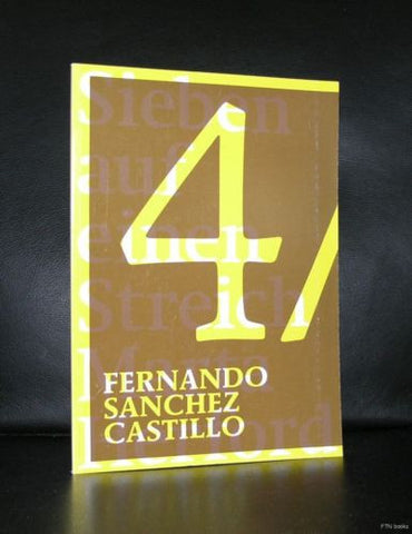 Fernando Sanchez Castillo# SEVEN AT ONCE # 2006, nm