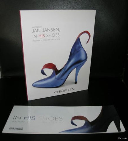 Jan Jansen,  Christie's Amsterdam # JAN JANSEN, In his shoes# 2007, MInt + invit