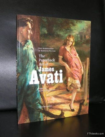 Schreuders# PAPERBACK ART of JAMES AVATI#2005, mint