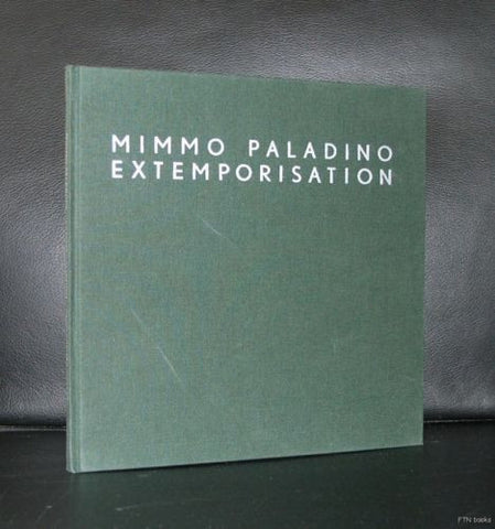 Mimmo Paladino # EXTEMPORISATION # 1997, nm+
