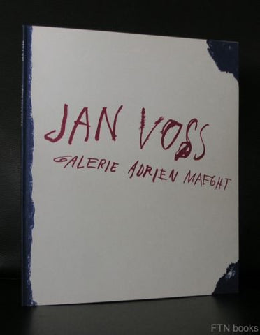 galerie Adrien Maeght # Jan VOSS # 1981, lithographed cover, NM+