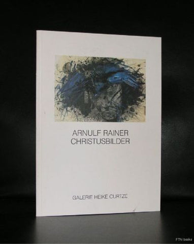 Arnulf Rainer # CHRISTUSBILDER # Curtze, 1986, 150 cps, nm+