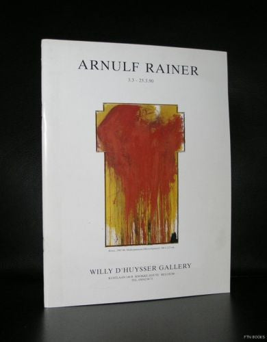 Willy d'Huysser Gallery # ARNULF RAINER # 1990, nm+