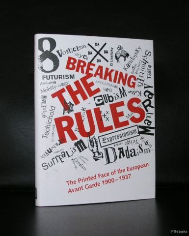 Dada a.o. #  AVANT GARDE PRINTING /BREAKING THE RULES #Typography, 2007, mint