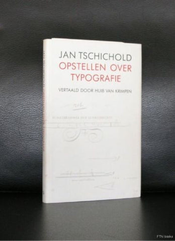 Jan Tschichold # OPSTELLEN OVER TYPOGRAFIE# nm+. 1988