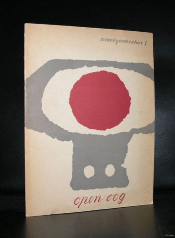 Willem Sandberg # Avantgardecahier 1, OPEN OOG # dutch typography, 1946, nm