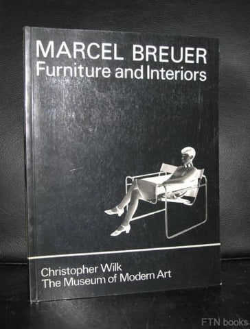 Moma , New York # MARCEL BREUER  / Furniture and Interiors # 1981, Mint-