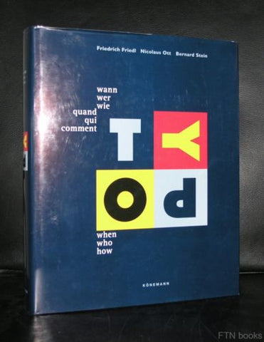 Friedl, Ott and Stein # TYPO when who now # typography, 1998, mint-