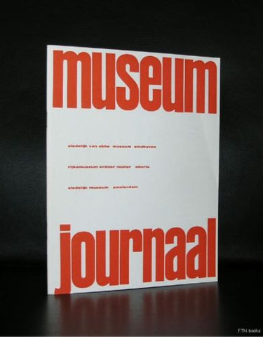 Willem Sandberg # MUSEUM JOURNAAL , 65 jaar SM # 1961, nm++