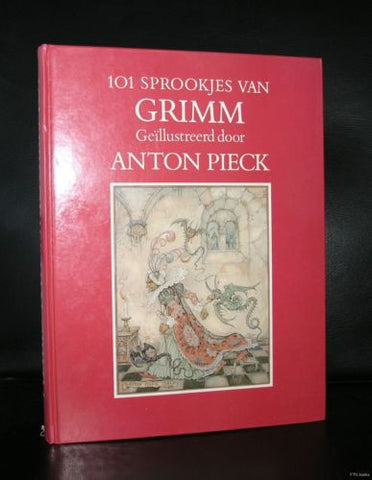 Anton Pieck # 101 SPROOKJES VAN GRIMM # Fairy Tales, dutch, 1984, nm