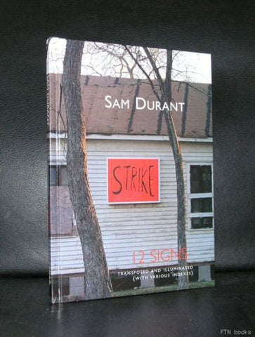 Sam Durant # 12 SIGNS #S.M.A.K. Gent, 2004, mint