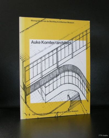 wim Crouwel design# AUKE KOMTER/architect#1978, nm
