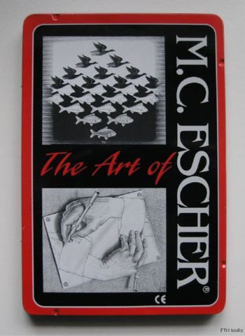 M.C. Escher # THE ART of color PENCILS# nm++, tin