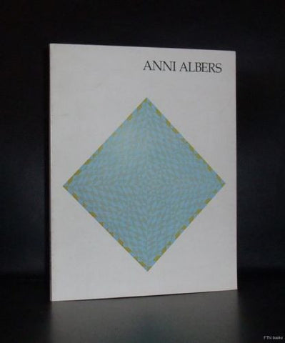 Brooklyn Museum# ANNI ALBERS # 1977, near mint