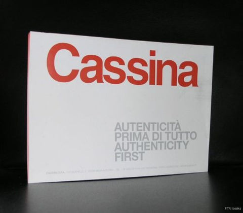 folder/ poster # CASSINA # authenticity first, nm+