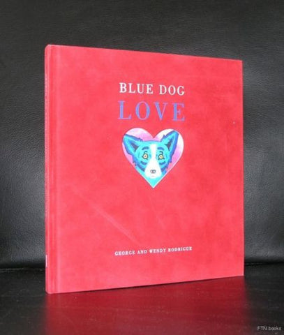 Rodrigue # BLUE DOG LOVE # 2001, mint
