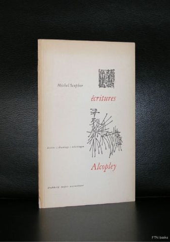 Michel Seuphor , Alcopley # ECRITURES / DRAWINGS# Elffers, 1954, nm