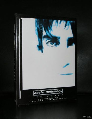 Tim Abbot # OASIS, Definitely# Hardback, 1996, nm+