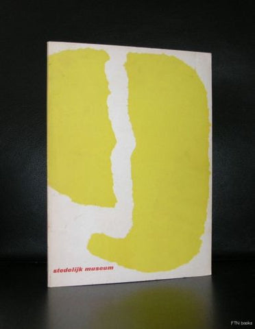 Stedelijk Museum # 9 JAAR # Yellow version, SANDBERG #, 1954, nm-