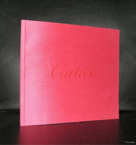 Cartier # PUBLICITY BOOK # ca. 1990, nm+