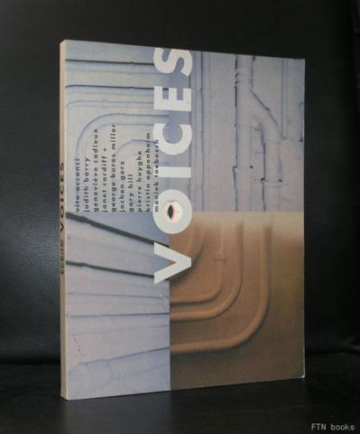 Vito Acconci , Barry, Gary Hill a.o# VOICES #1998, nm-
