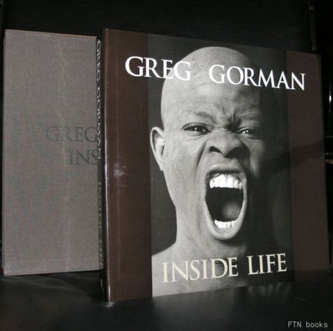 Greg Gorman# original signed photo + INSIDE LIFE#mint