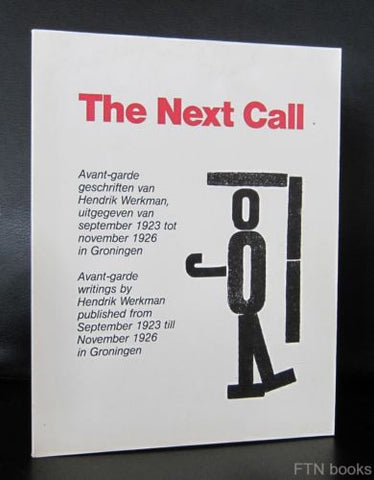 H.N. Werkman , Jan Martinet # THE NEXT CALL # de Werkman stichting, 1978, nm