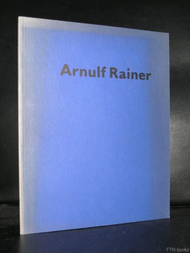 Abbemuseum # ARNULF RAINER # 1984, Nikkels, Near Mint