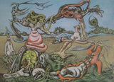 SURREALIST PAINTING # de Tchecoslovaquie 1930-1960# nm+, 1983
