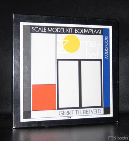 Gerrit Rietveld, Scale Model kit 1:100 # ZONNEHOF # 1986, complete Mint-
