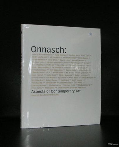 Onnasch # ASPECTS OF CONTEMPORARY ART# Macba, sealed