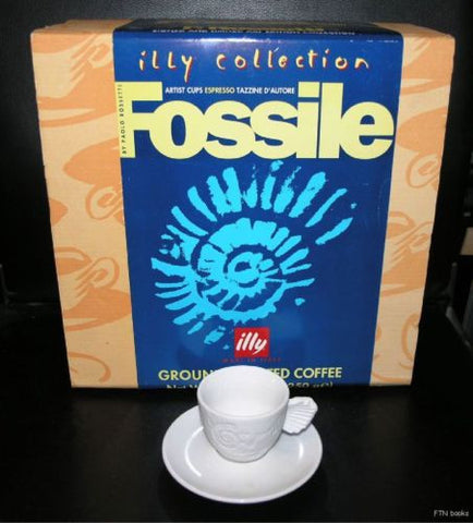 Illy collection, Paolo Rossetti # FOSSILE # 1997, nib