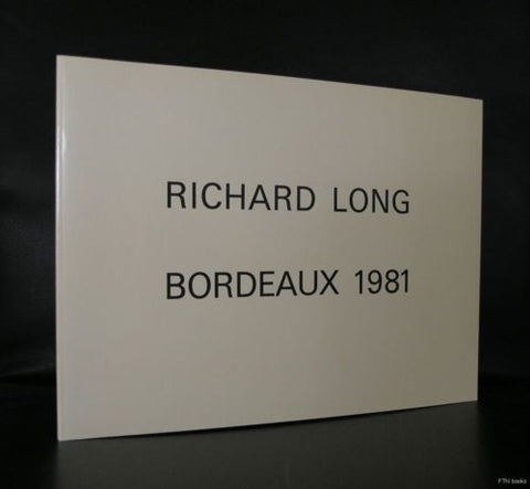CAPC Bordeaux # RICHARD LONG # 1981, mint