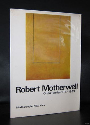 Marlborough # ROBERT MOTHERWELL # 1969, nm