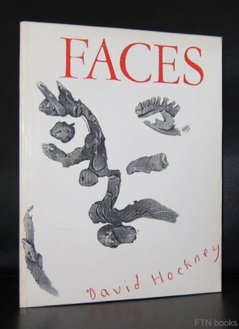 David Hockney # FACES # Laband Art gallery, 1987, NM