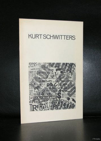 Museum of Modern Art ,New York # KURT SCHWITTERS # 1972, nm++