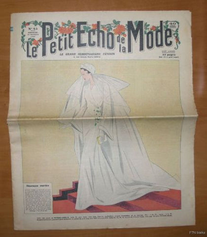 Petit Echo de la Mode  # No. 45 # 1935, nm