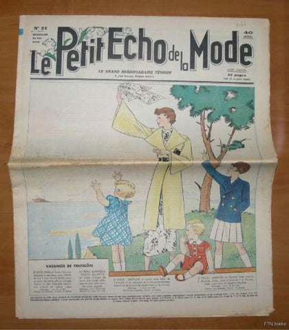 Petit Echo de la Mode  # No. 21 # 1936, nm