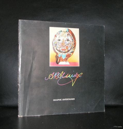 Alan Aldridge # GRAPHIC DESIGNER #1971, vg+/nm-